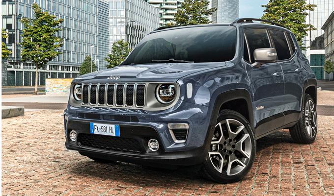 Noleggio Jeep Renegade a Torino