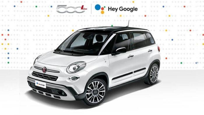 Fiat 500l Hey Google Promozione