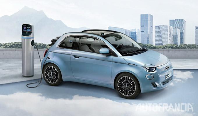 Fiat 500e promo Autofrancia